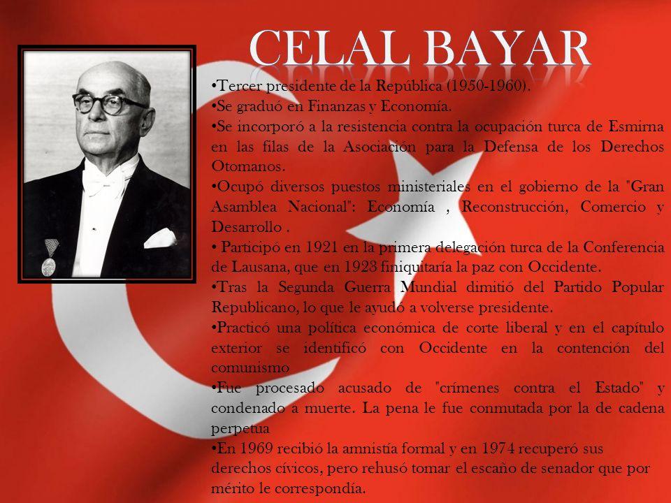 Cemal Gürsel Cemal Gürsel nació en Erzurum en 1895.