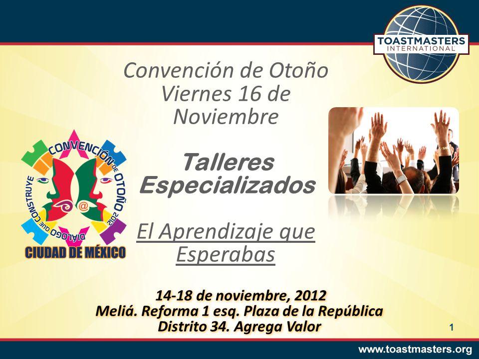 Taller de Comunicación Oral Profesional 8:30-9:20 Rubén Cuén y Aragón.