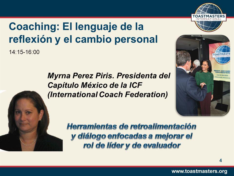 El Arte de la Evaluación Efectiva Georgina López Miranda Locutora, conductora, oradora profesional.