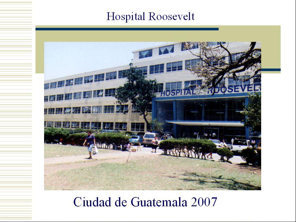 Período de Septiembre 2002 a Diciembre 2006 Consulta Externa del Hospital Roosevelt.