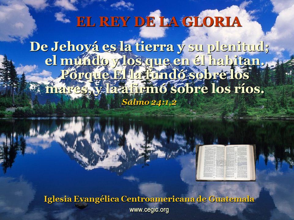 DIOS ES MI LUZ Y MI SALVACION Jehová es mi luz y mi salvación; ¿de quién temeré.