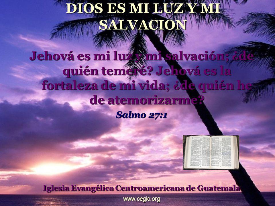 ETERNIDAD DE DIOS Dios tú nos has sido refugio de generación en generación.
