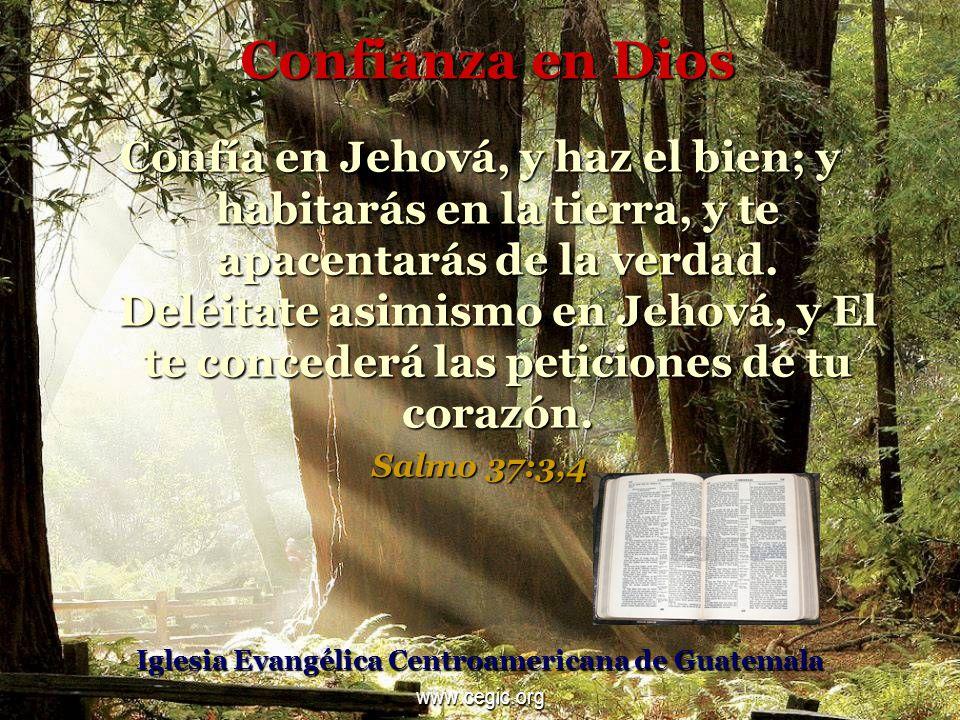 Esperanza en Dios Pero los que esperan en Jehová, tendrán nuevas fuerzas; levantarán alas como las aguilas; correrán y no se cansarán; caminarán, y no se fatigarán.