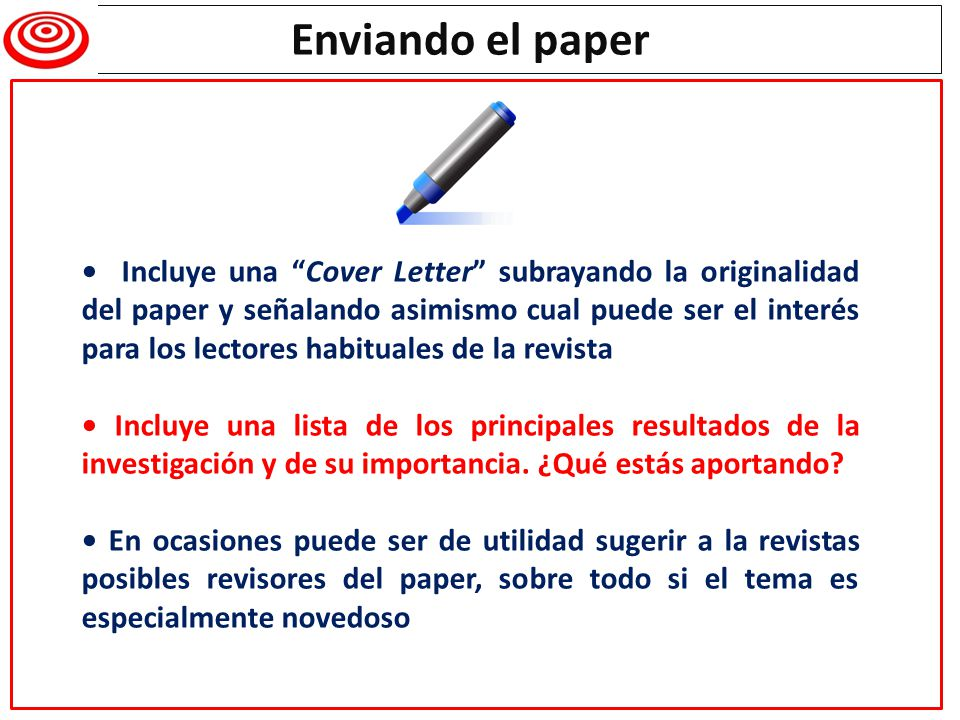 Authors should include a cover letter detailing the key findings of their manuscript.