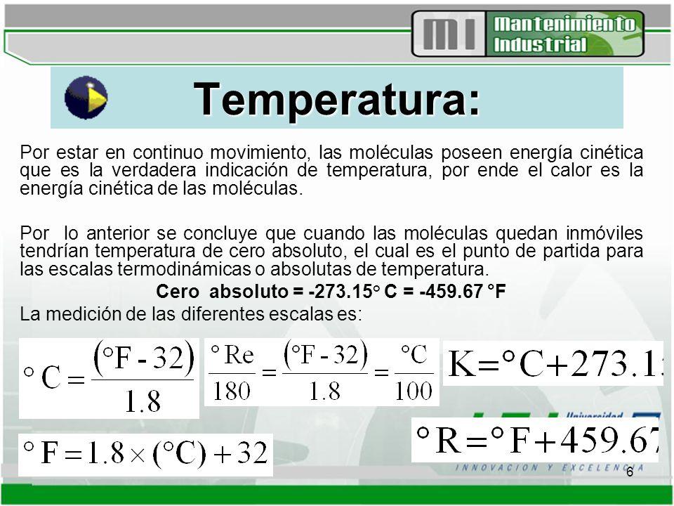 7 Humedad Relativa: Se considera cuando se trata del aire atmosférico, para efectos de cálculos es la relación entre la presión parcial de vapor actual en la mezcla aire-vapor y la presión de vapor saturada a la temperatura de bulbo seco en la mezcla, igualmente se expresa en porcentaje.