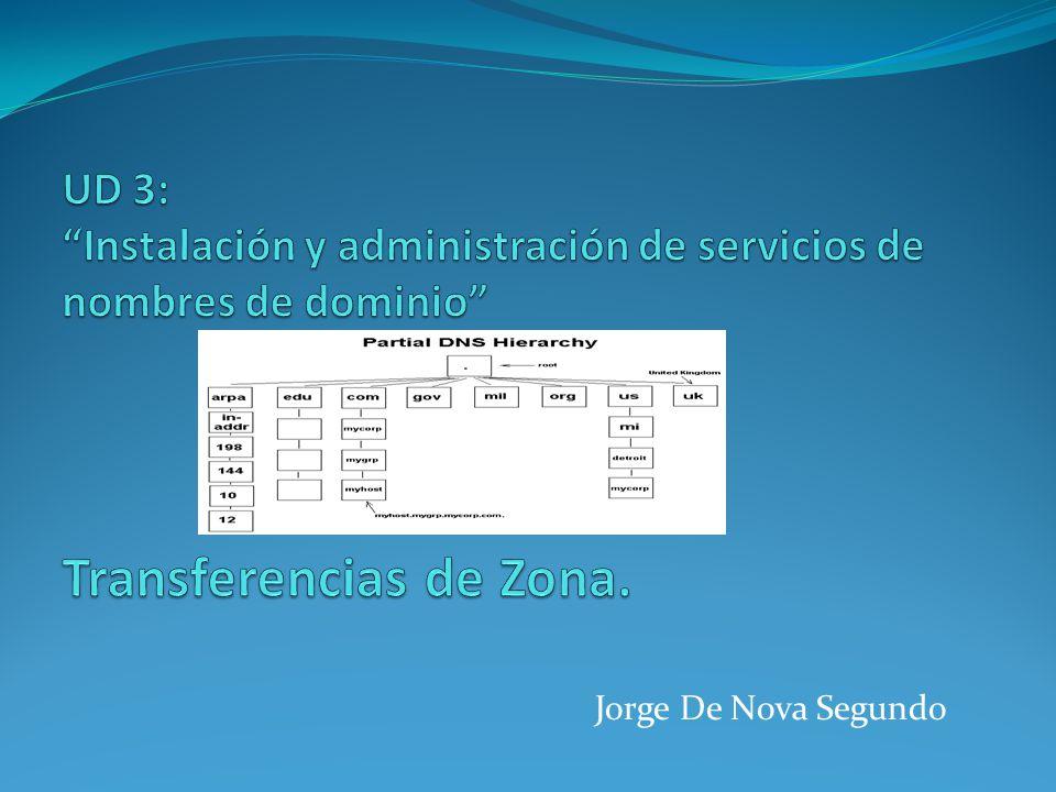 Los servidores DMS que declaran zonas esclavas o secundarias obtienen los archivos de zona (los registros de recursos) de otros servidores DNS autorizados para esas zonas.