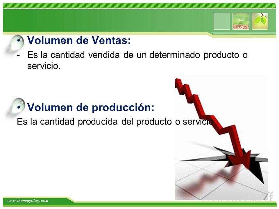 www.themegallery.com Periodo de Pronostico: Es el periodo (de tiempo) al cual corresponde el pronóstico: Semanales, mensuales, anuales, etc.