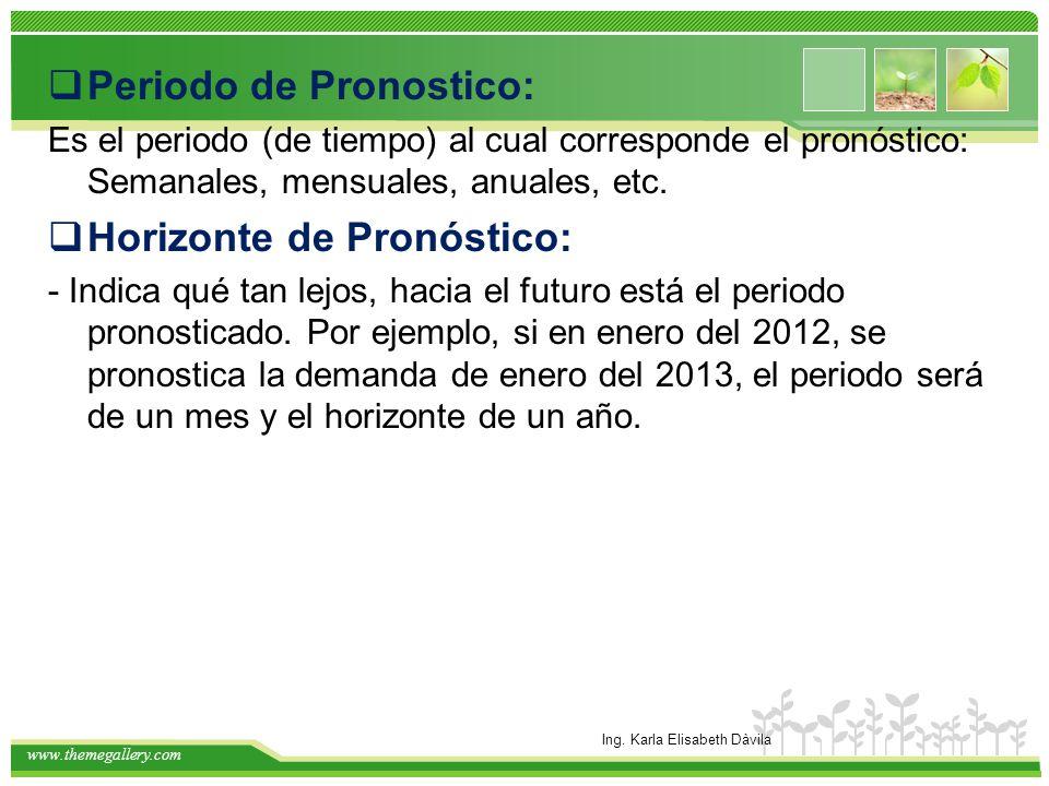 www.themegallery.com Principios a)La probabilidad de no cometer errores en los pronósticos es cero.