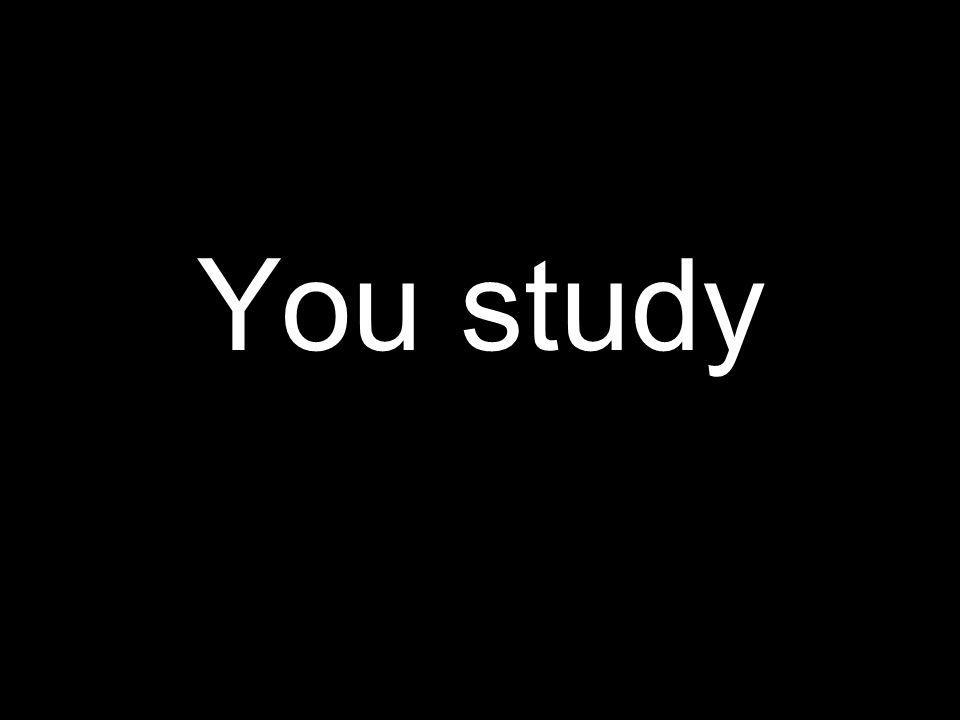 Tú estudias