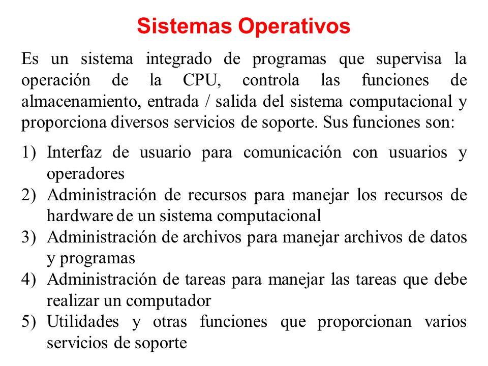 Lenguajes de Programación Constituyen una categoría importante de software de sistemas.