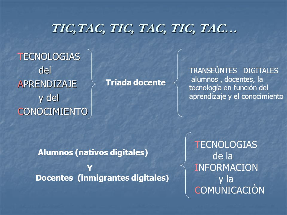 Docentes de este tiempo […] sería ingenuo y arriesgado suponer que no existe una brecha cognitiva/emocional en creciente conformación entre los que nacimos antes y después de determinadas tecnologías cognitivas, en particular las asociadas a la información masiva, Internet y el uso multipropósito de la telefonía celular, la conectividad permanente, el acceso irrestricto a Wikipedia, Youtube, MySpace, Facebook, Twitter, los weblogs y las redes sociales como matrices de subjetivación, y que esta brecha no tiene implicancias cognitivas, psicogenéticas y pedagógicas insuturables, entre quienes nacimos antes y después de la década de 1980/90.