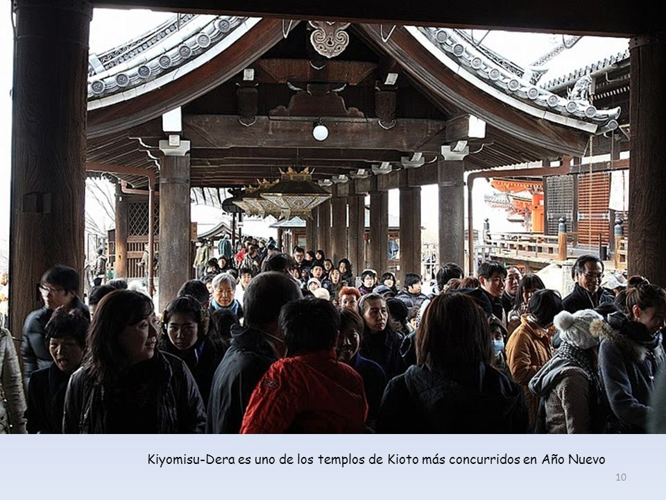 Kiyomisu-Dera es uno de los templos de Kioto más concurridos en Año Nuevo 10