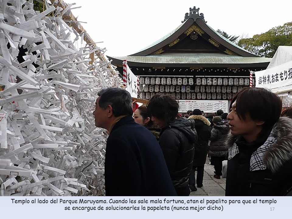 Templo al lado del Parque Maruyama.