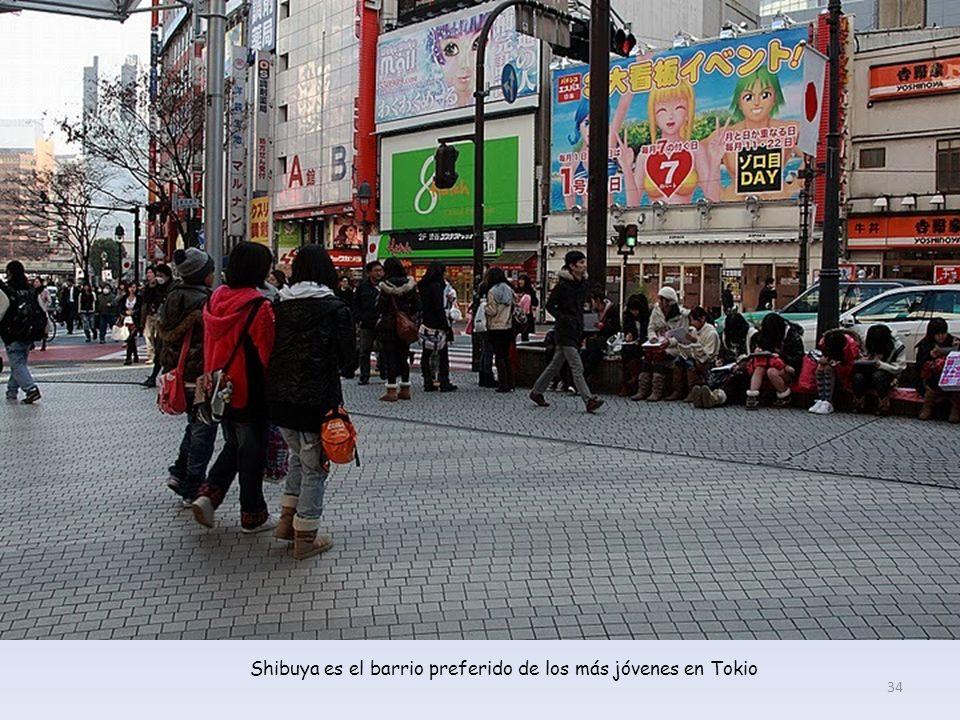 Shibuya es el barrio preferido de los más jóvenes en Tokio 34