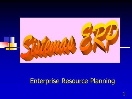 1 Enterprise Resource Planning. 2 Antecedentes  Harris desarrolla en 1915 el modelo EOQ (Economic Order Quantity) cuánto pedir.  Wilson en 1934 presenta.