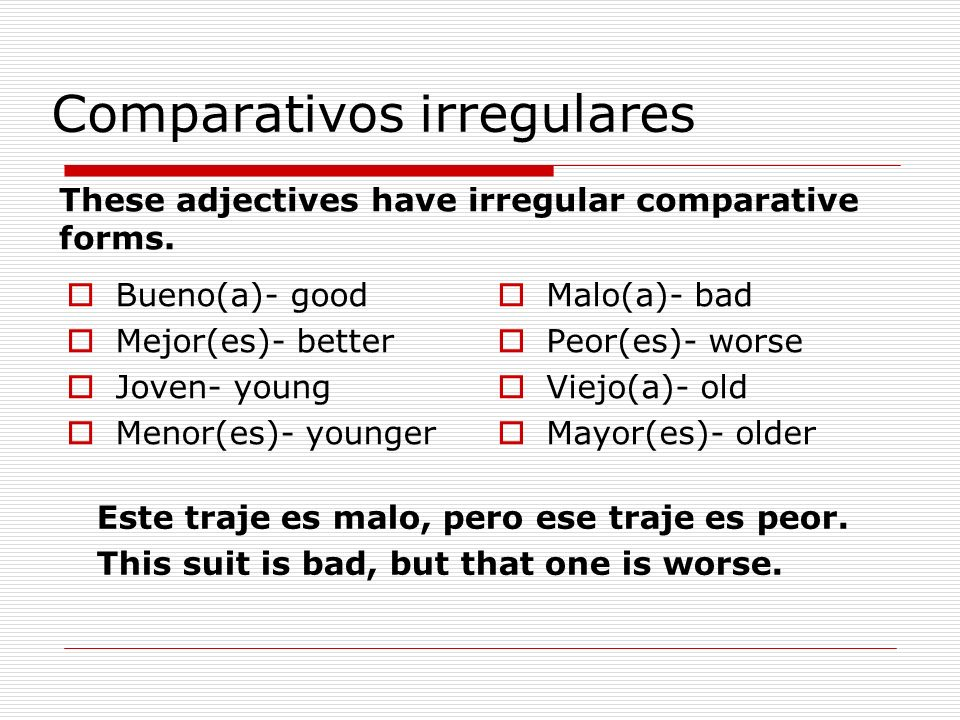 Comparativos To say if someone does something more than, less than or as much as someone else.