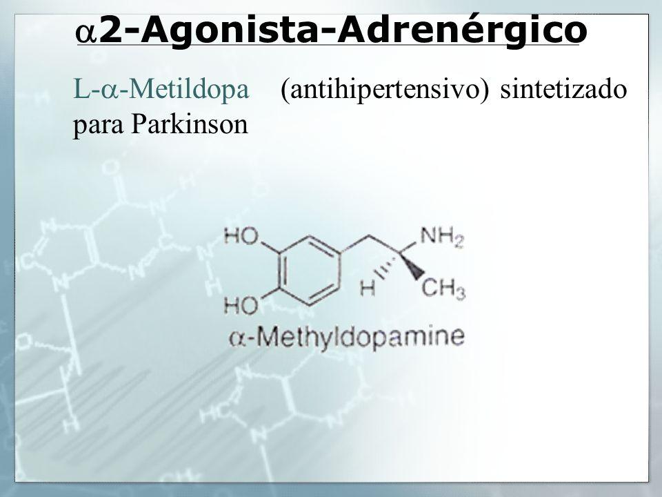 Otros agonistas adrenérgicos Anfetamina (Efectos y y estimulante SNC y del centro respiratorio bulbar) Activación cortical y del S.