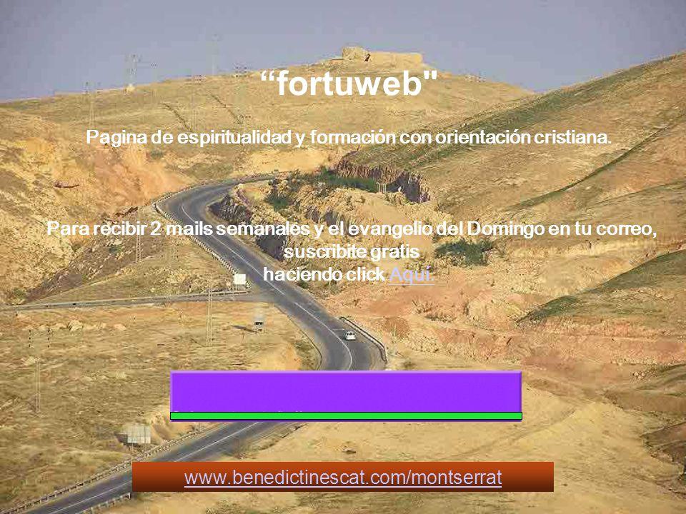 fortuweb Pagina de espiritualidad y formación con orientación cristiana.