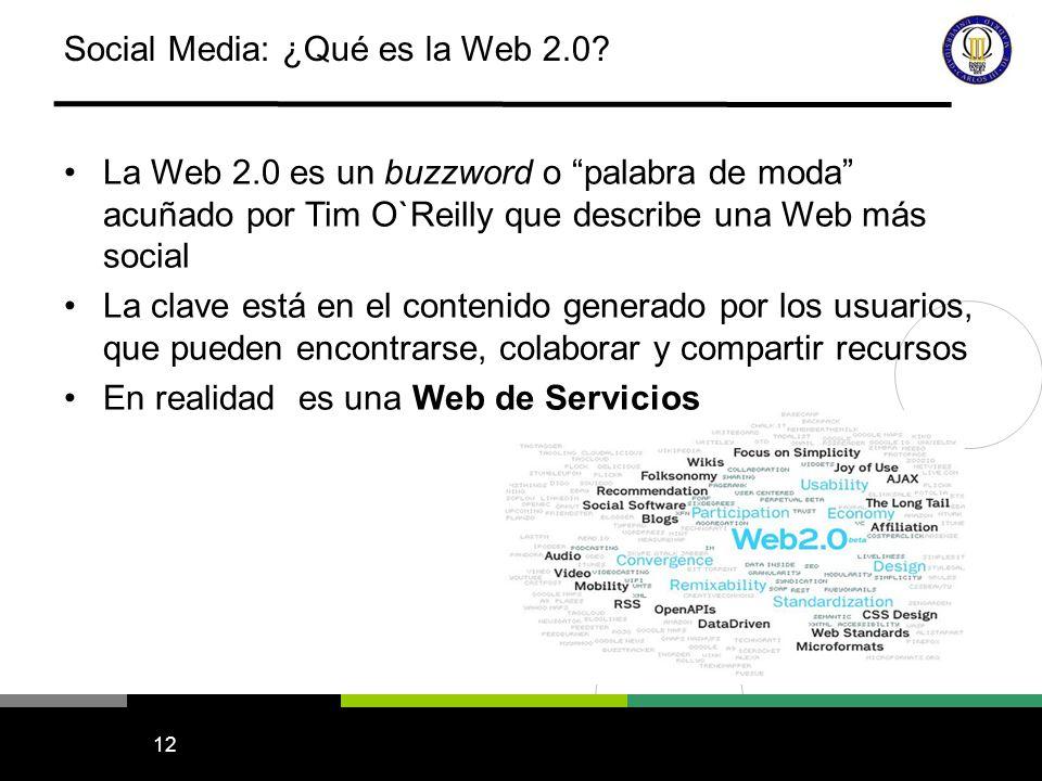 13 La Web 2.0 en mis propios términos… Usuarios Contenido Etiquetas Comentarios Los usuarios crean contenido y lo comparten Los usuarios anotan el contenido con etiquetas y navegan utilizando las etiquetas Los usuarios discuten el contenido mediante comentarios