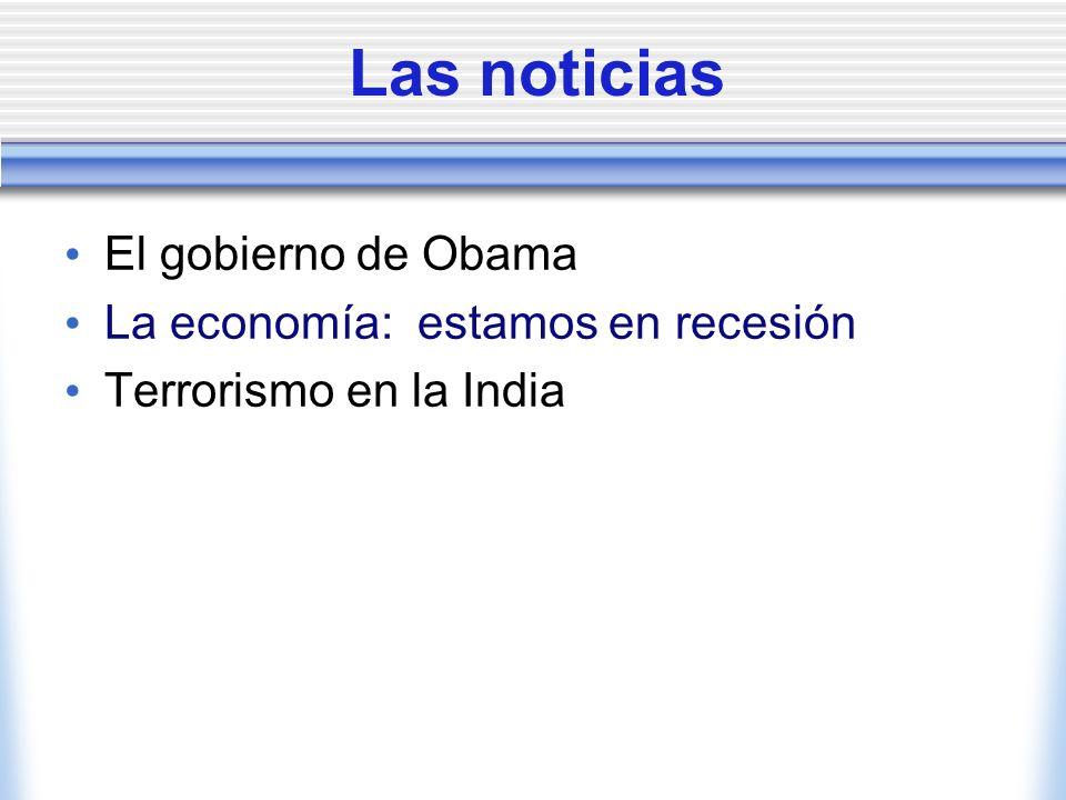 El gobierno de Obama Cada Presidente tiene que escoger a su gabinete (= los ministros, que se llaman secretarios) antes de la fecha de su inauguración.