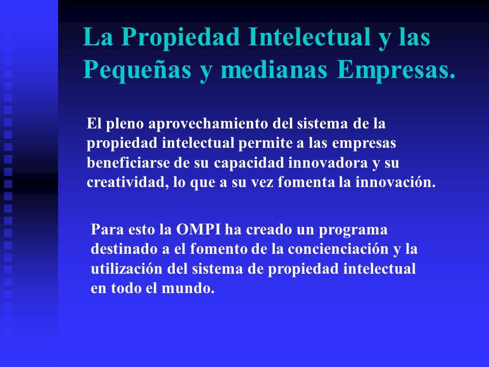 La Propiedad Intelectual y las Pequeñas y medianas Empresas.
