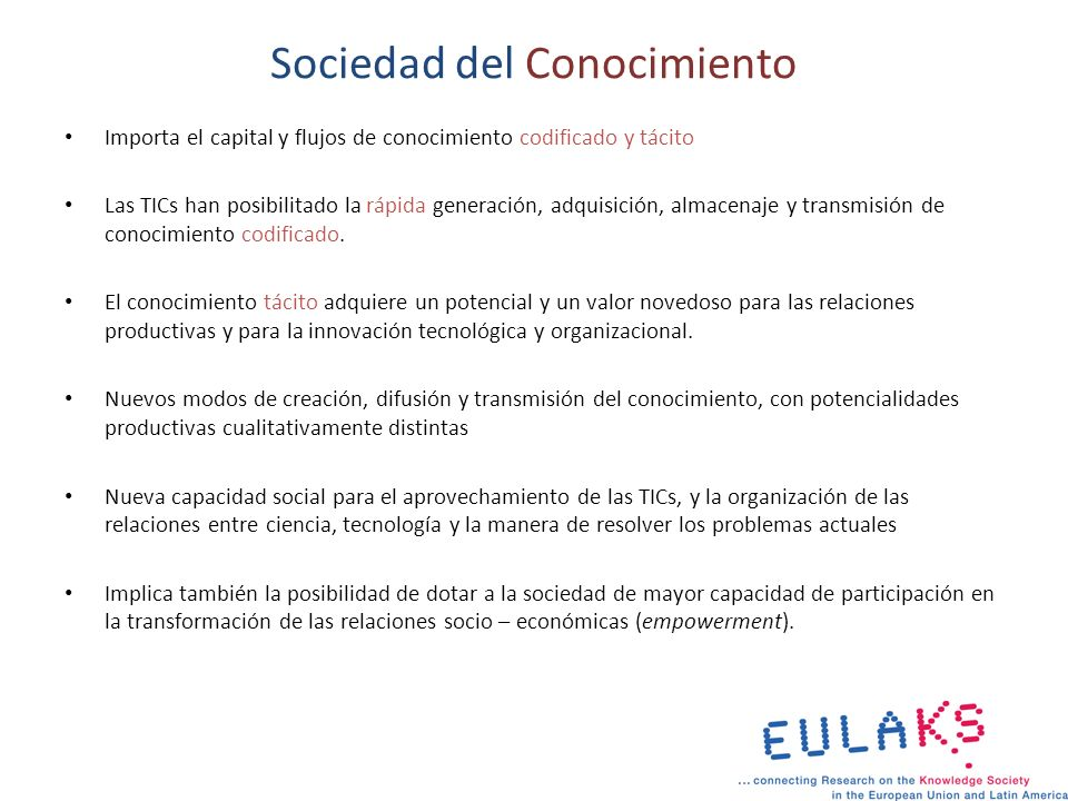 Indicadores de la SC Las variables para medir los prerrequisitos son: – Infraestructura y recursos, – medios de comunicación y educación.