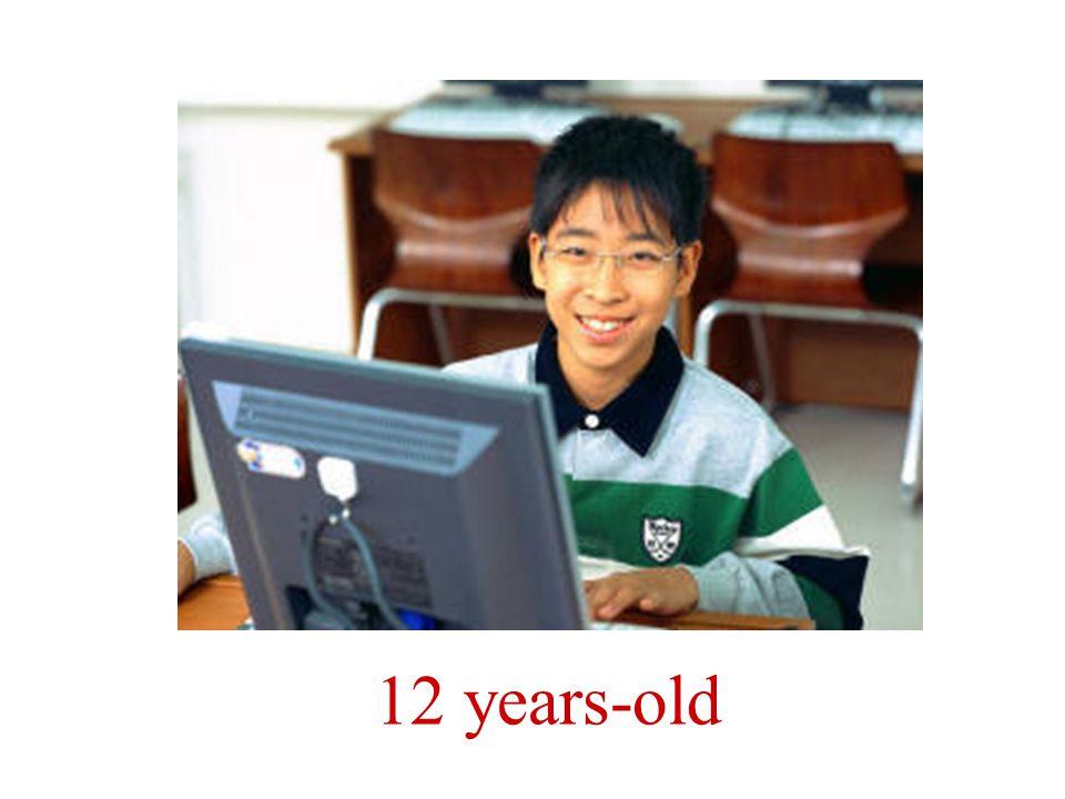 Tiene doce años.