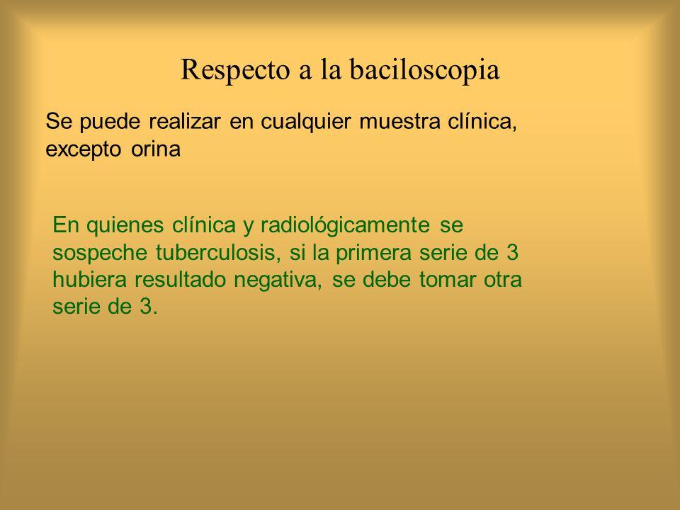 ¿Cuál es el número de campos a revisar en la lectura de una baciloscopía.