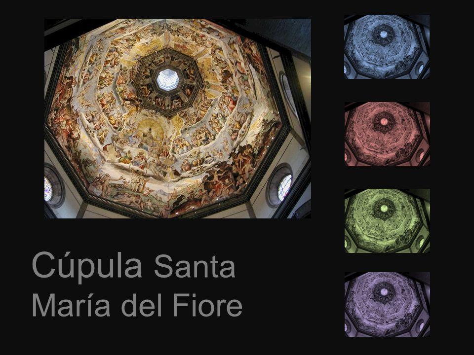 Arquitecto Santa María del Fiore: Arnolfo di Cambio Arquitecto cúpula: Filippo Brunelleschi 1926-1446 114 M.