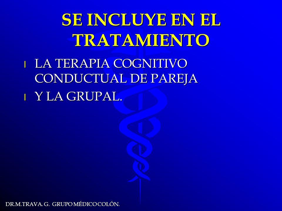 DR.M.TRAVA.G. GRUPO MÉDICO COLÓN. CONDUCTAS DEL OBESO l OCULTARSE PARA COMER.