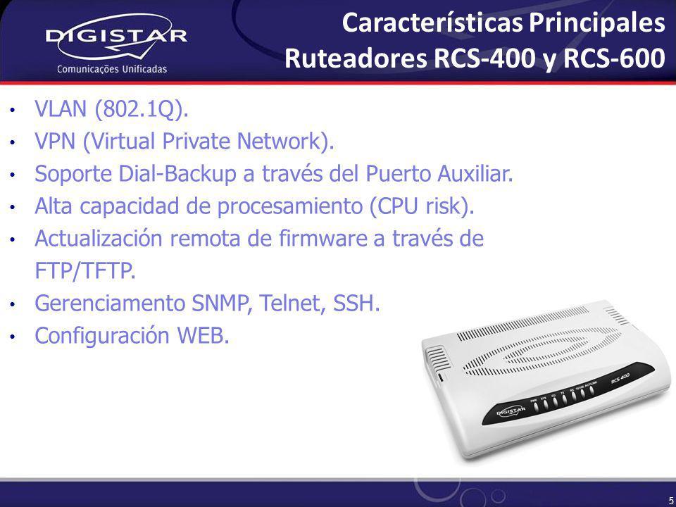 6 Acceso a Redes IP via enlace dedicado vía interface V.35 y V.28.