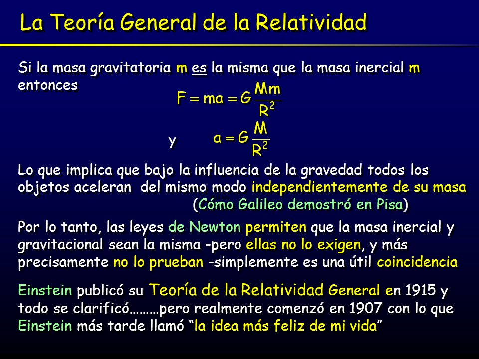 La Idea más feliz Relatividad Especial: ¿estacionario o en movimiento uniforme.