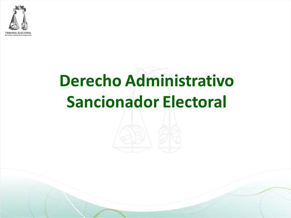 Las penas por delitos o sanciones electorales serían impuestas por los jueces.