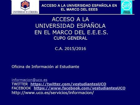 Jornadas de acogida j ulio 2016 mar a hurtado revidiego for Oficina del estudiante universidad de la rioja