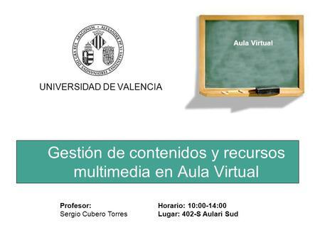 gesti n de contenidos y recursos multimedia en aula