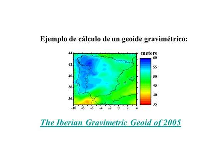 The Iberian Gravimetric Geoid of 2005