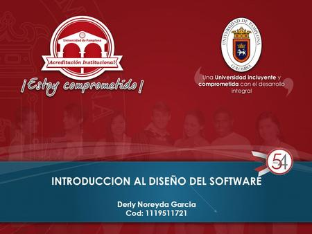 INTRODUCCION AL DISEÑO DEL SOFTWARE