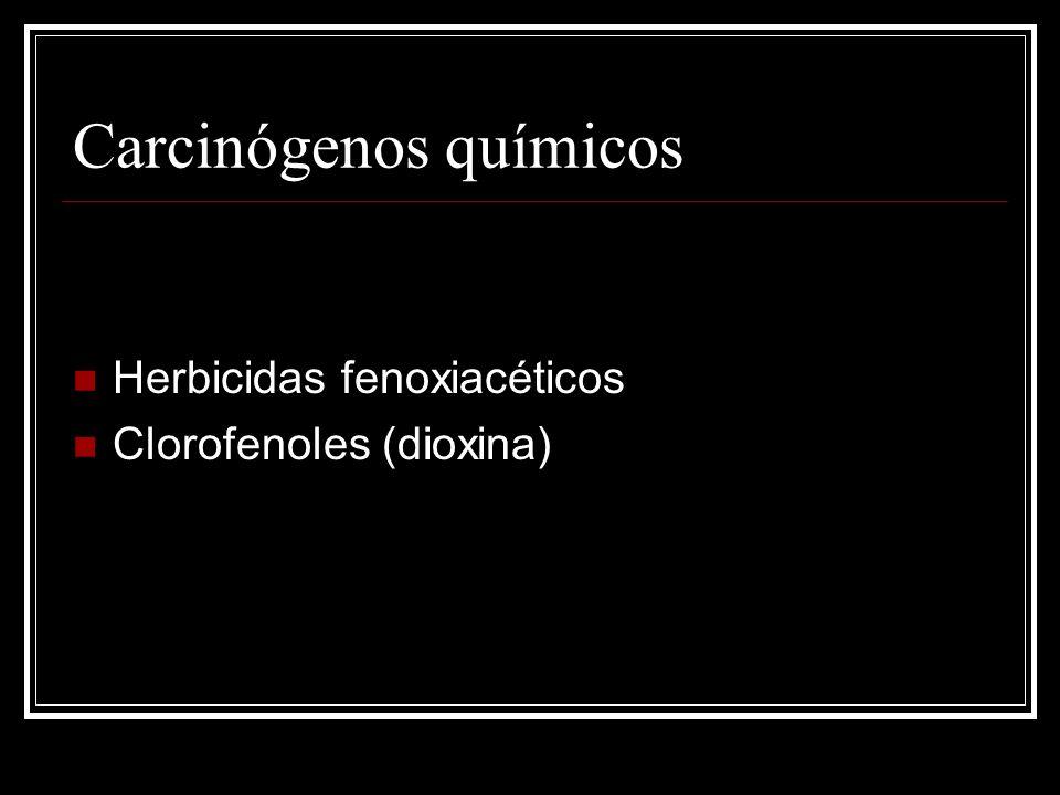 Radiación Incidencia post-radiación: 1% Cáncer de mama Dosis-dependiente Intervalo latente: 10 años Histiocitomas fibrosos malignos, osteosarcomas