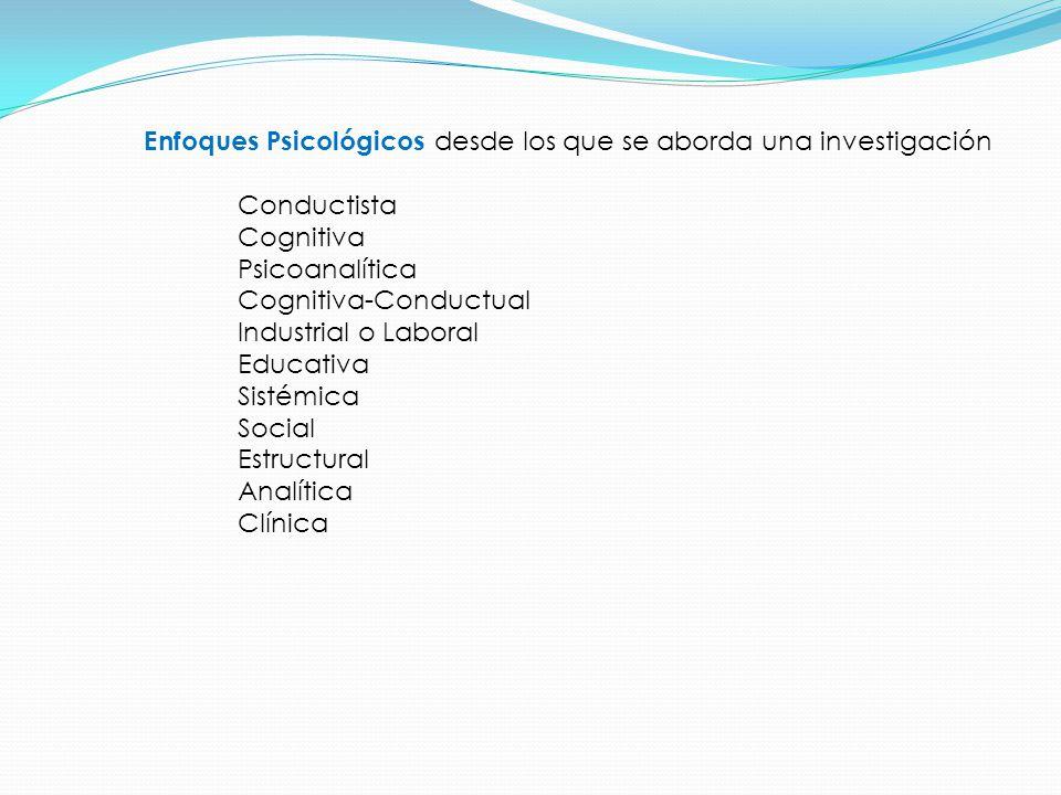 Para elaborar el título de la investigación Es necesario mencionar en el título las variables a investigar y la delimitación del tema.