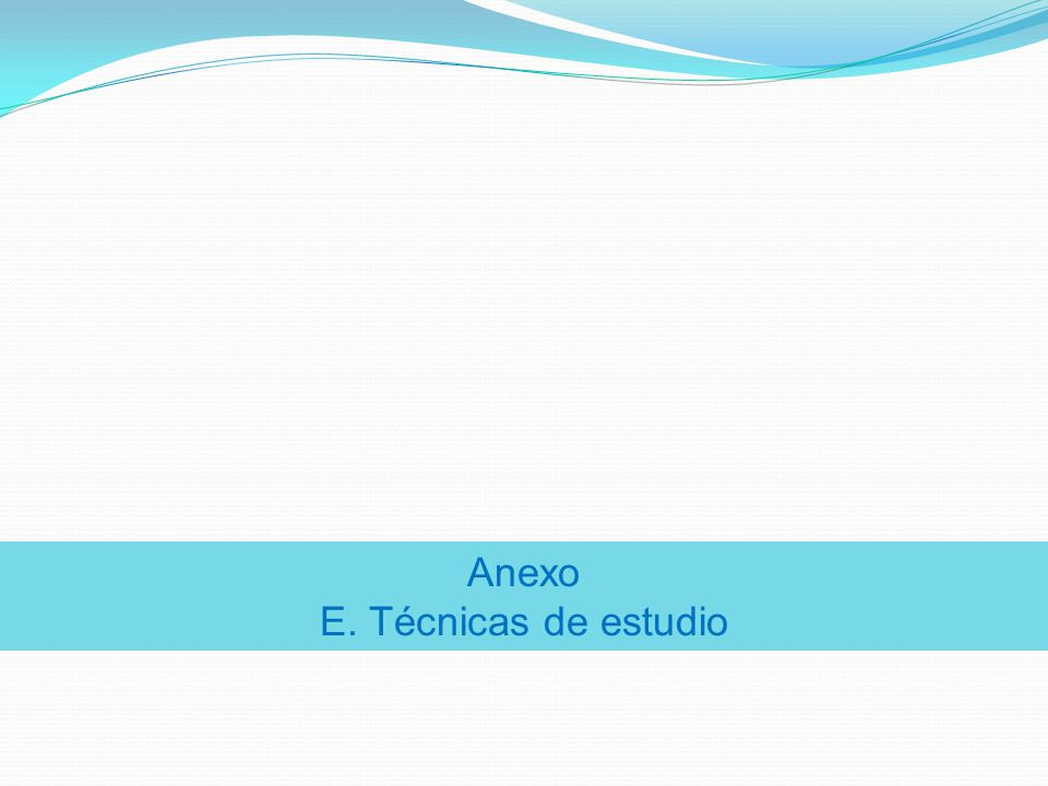 Anexo F. Tipos de lectura