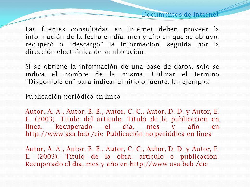 Ciudad de publicación La normativa APA permite solo escribir el nombre de la ciudad en que se publicó la obra.
