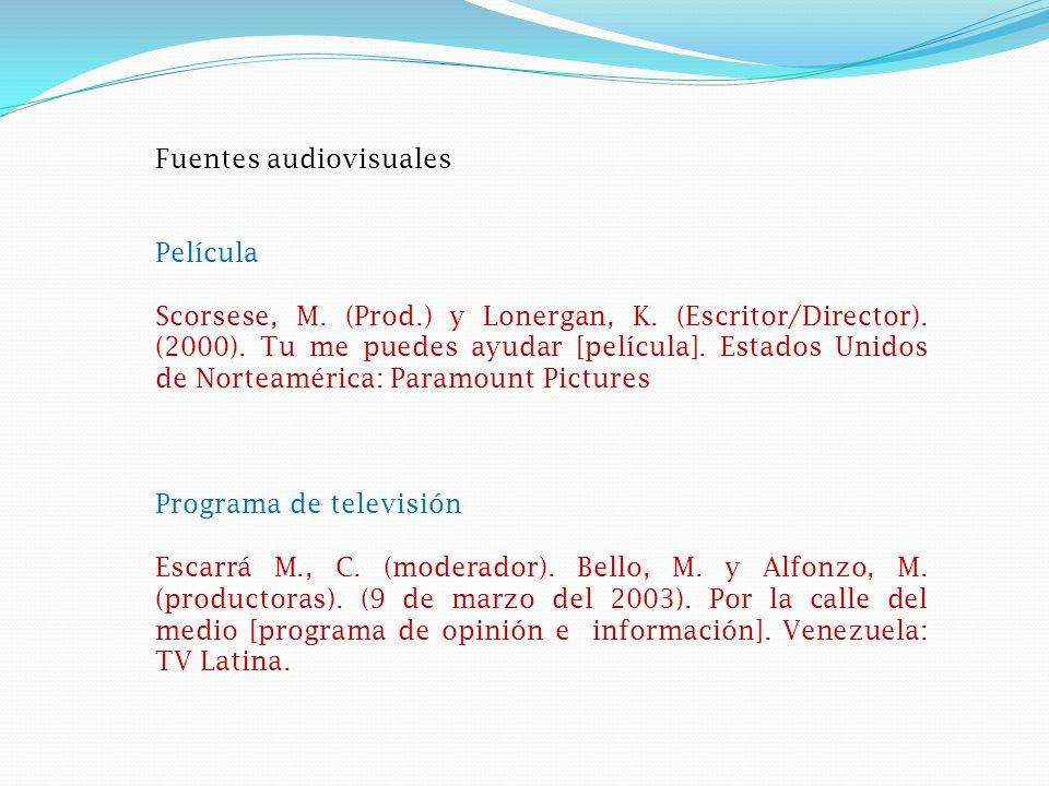 Documento electrónico Artículo en Internet basado en fuentes impresas Torres, P.