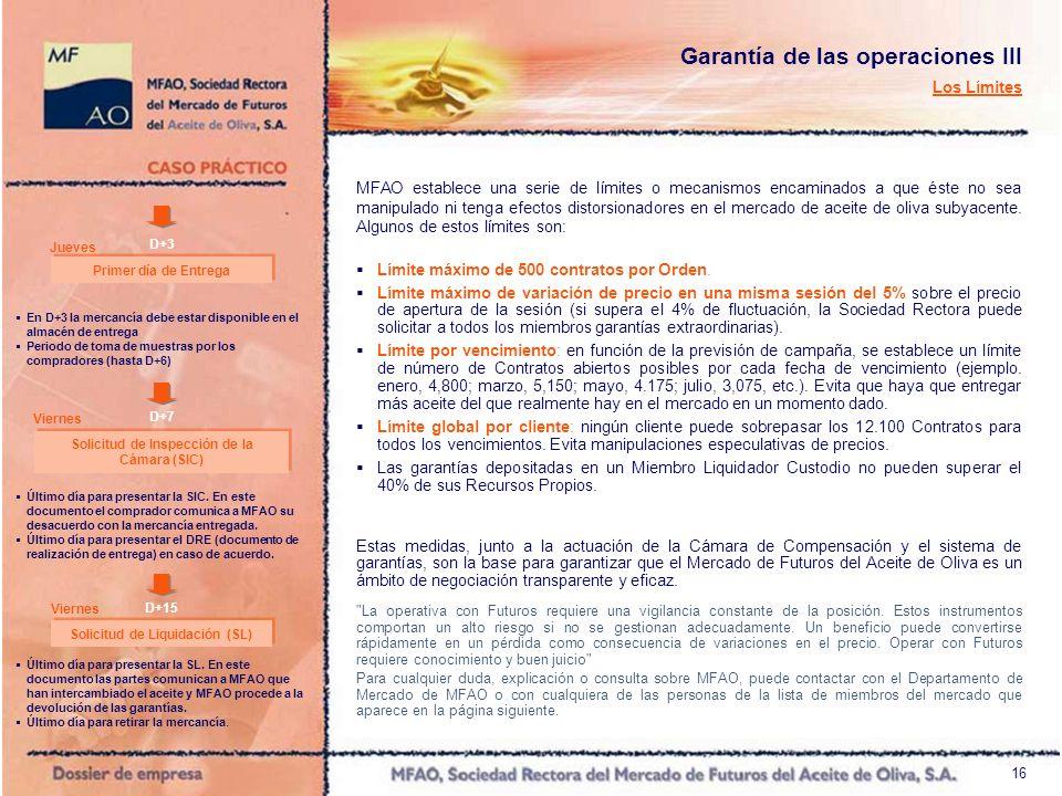 17 LISTADO DE MIEMBROS: Miembros Liquidadores Custodios Caja España, Salamanca y Soria Banco Popular Banco Cooperativo Español Banca Cívica, S.A.