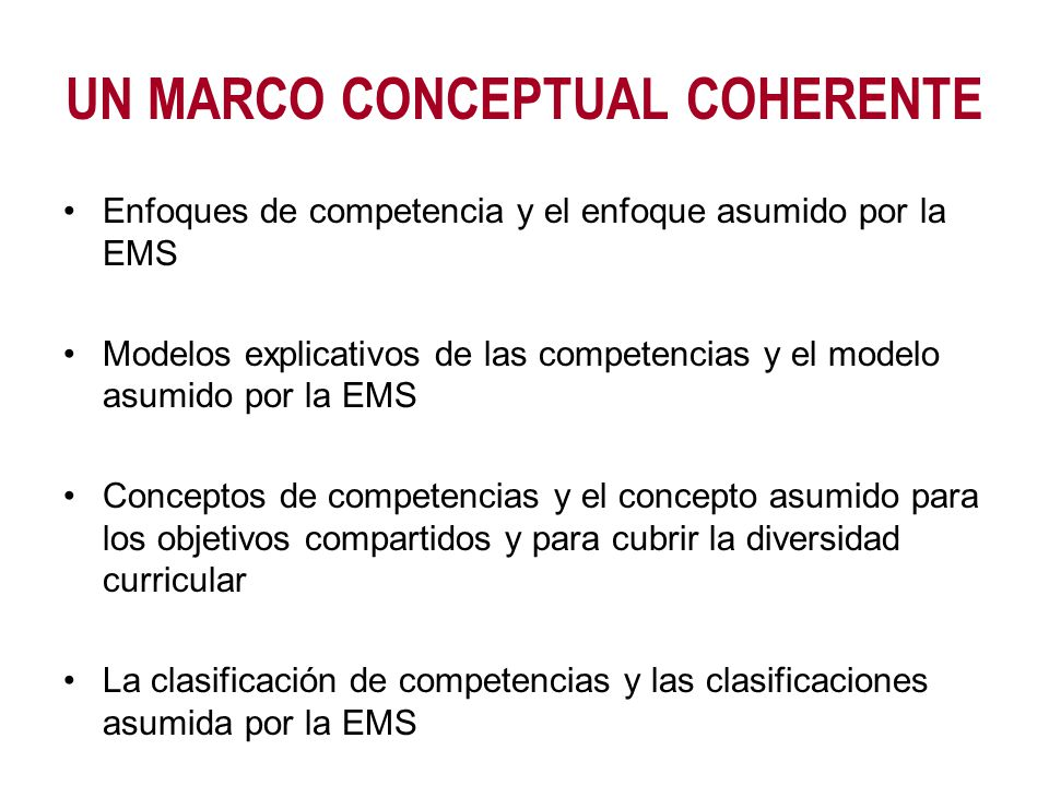 ENFOQUES MÁS CONSENSUADOS Enfoque conductista Enfoque genérico Enfoque constructivista