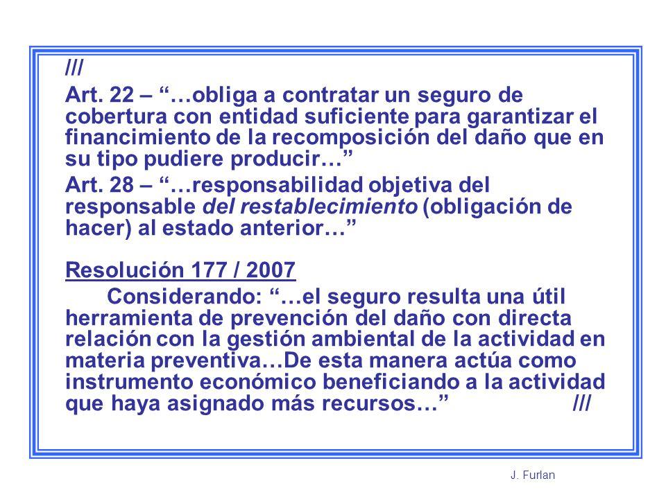 ///sigue Resolución Conjunta 98 / 2007 y 1973 / 2007 Establece las Pautas básicas para las Condiciones Contractuales de las pólizas de Seguro de Daño Ambiental de Incidencia Colectiva.