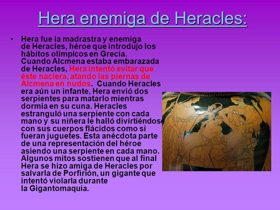 Historias en las que sale Hera: La Ilíada.