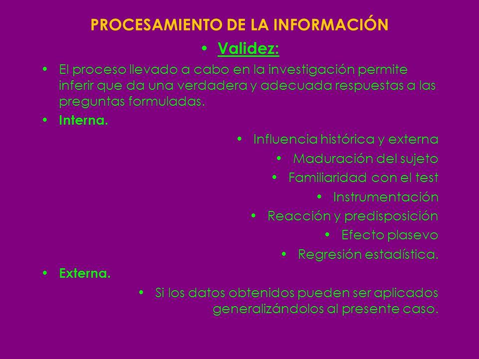 Procesamiento de la información II Diseño de la investigación 1) Case studies / estudio de caso 2) Correlational studies/ estudios correlativos de dos o mas variables 3) True experiments /experimentos veridicos.