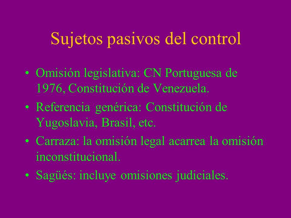 Efectos del control: Conflicto: ineficacia de la invalidación o inaplicación.