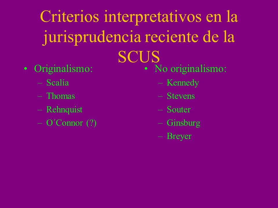 Interpretación transnacionalista Grutter v.