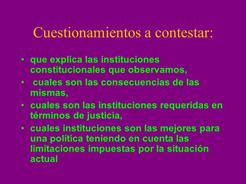 Control de constitucionalidad Cooper: teoría de los Juegos.